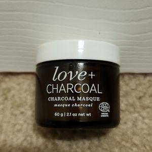 NWT Love + Charcoal Mask